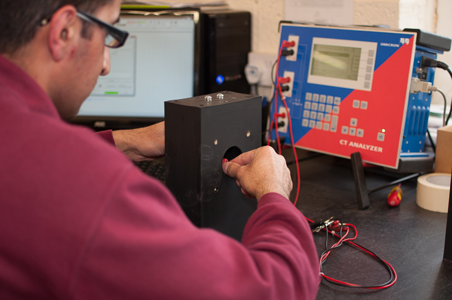 Computerized Current transformer testing