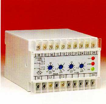 One of our Frequency Protection Relays